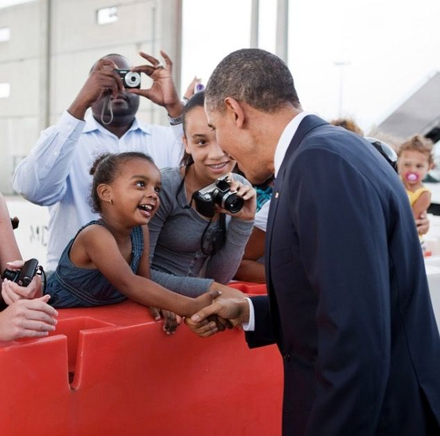 """#44thPresident #BarackObama  """"We're going to keep pushing until every single girl has the rights, and the opportunities, and the freedom to go as far as her dreams will take her."""" —President Obama #ObamaLegacy #ObamaHistory #ObamaLibrary #ObamaFoundation Obama.org"""