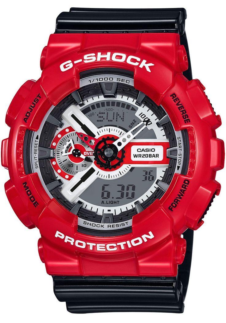 CASIO G-SHOCK GA-110RD-4A    http://www.watchworld4.us/?product=casio-g-shock-ga-110rd-4a    Price 52$    Free Shipping    Big Sale