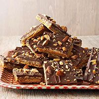 BHG's Newest Recipes:Oat 'n' Toffee Grahams Recipe