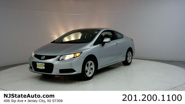 2013 Honda Civic Coupe 2dr Automatic LX OPEN from 9 AM - 8 PM in Jersey City, NJ - www.NJStateAuto.com - CASH or FINANCING and DRIVE HOME 🚗 with paperwork and license plates.