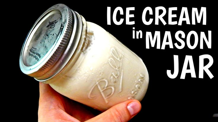 You can do so many things with a mason jar in the kitchen!! In this video, I show you how to make ice cream in a mason jar at home. Watch Previous Video: htt...