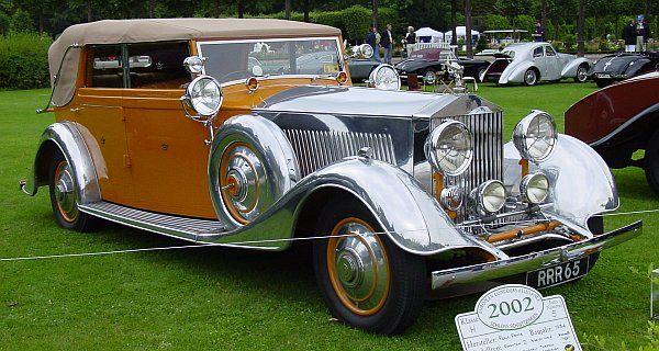 "1934 ""Star of India"" Rolls-Royce Phantom II Continental"