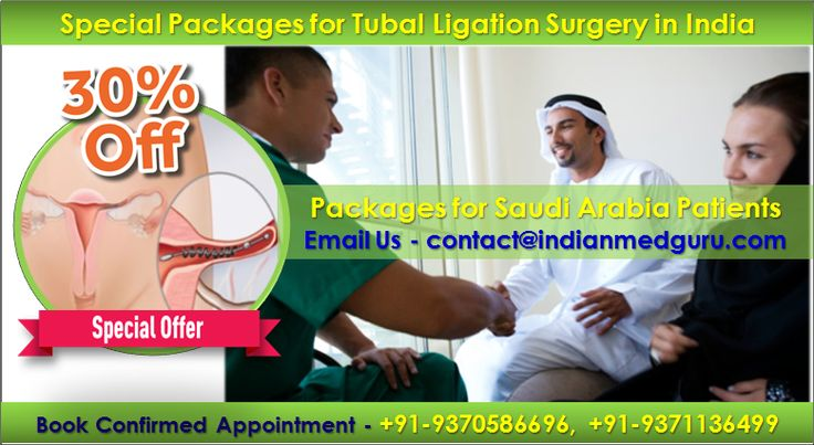 Low Estimated Cost of Tubal Ligation Surgery for Saudi Arabia Patients