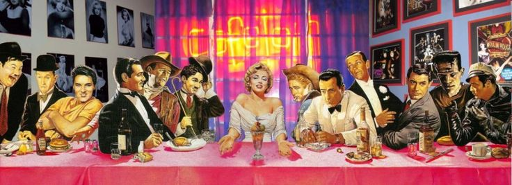 Hollywood last supper of celebrity