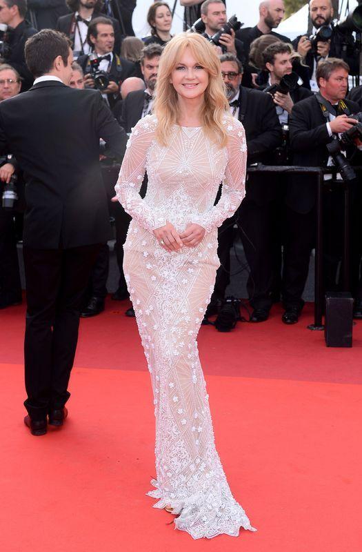 Grażyna Torbicka w sukni Viola Piekut na Festiwalu Filmowym w Cannes 2017