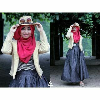 Hijab style,wardrobe by Zensy Famous photo by Edy Susanto,model Septina,Mua One Ellsa
