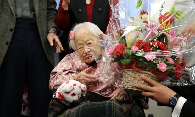 "Guinness World Records oldest person  Misao Okawa dies at 117. Officials said, ""She went so peacefully, as if she had just fallen asleep"". RIP Misao Okawa. #trending #worldnews #news #worldoldestperson  #socialmediamarketing #socialglims #socialmediaconsulting  #mydubai #dubai #expo2020  #misaookawa #japan #rip"