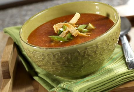 It takes less than one hour to make this vibrant soup that gets its flavor from Southwest favorites like chipotle pepper, cilantro, avocado and lime juice.