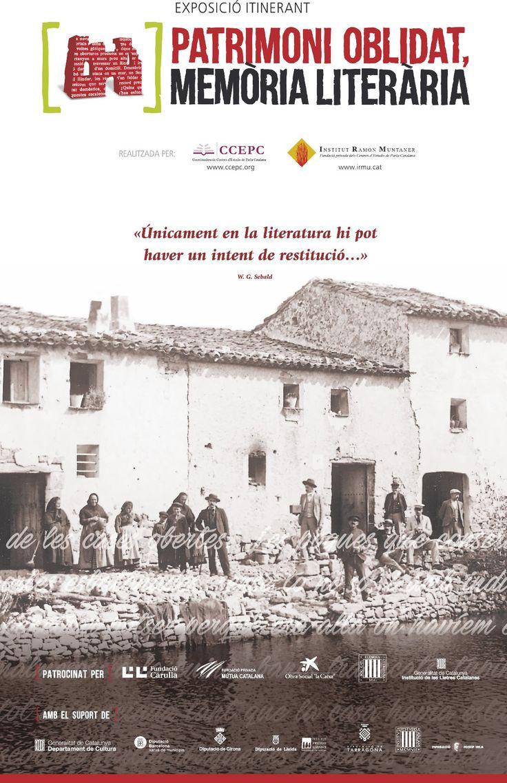 Patrimoni oblidat, memòria literària : catàleg de l'exposició