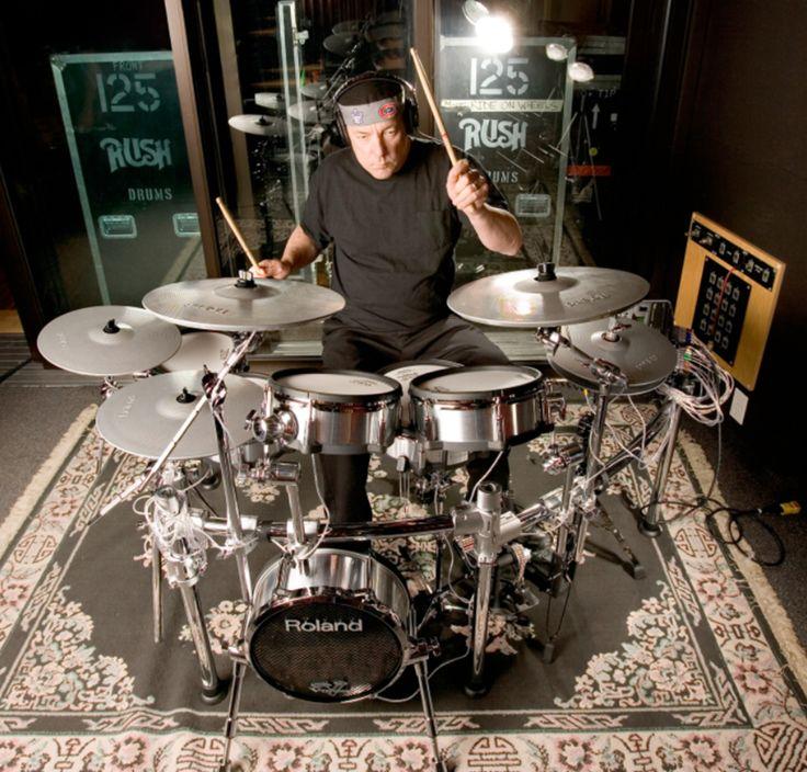 Neil Peart on Roland V-Drums