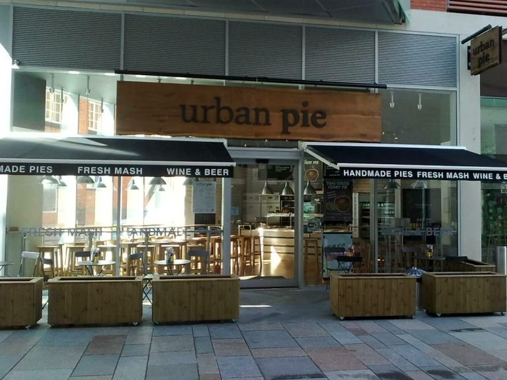 Urban Pie - Leicester UK. Delicious pies at good prices. Can recommend the lamb & rosemary pie - add the horseradish mash and you're onto a winner :D