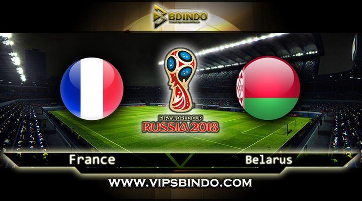 Vipsbindo Agen Bola Online pada artikel ini kembali memberi panduan serta perkiraan untuk Football Lovers untuk kompetisi Zona World Cup Qualifiersa kesempatan ini pada France vs Belarus 11 Oktober 2017 kompetisi ini berjalan pada jam 01:45 WIB.