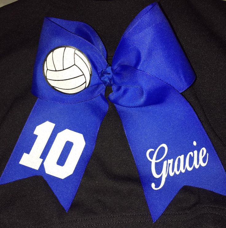 Custom Volleyball Team Bows