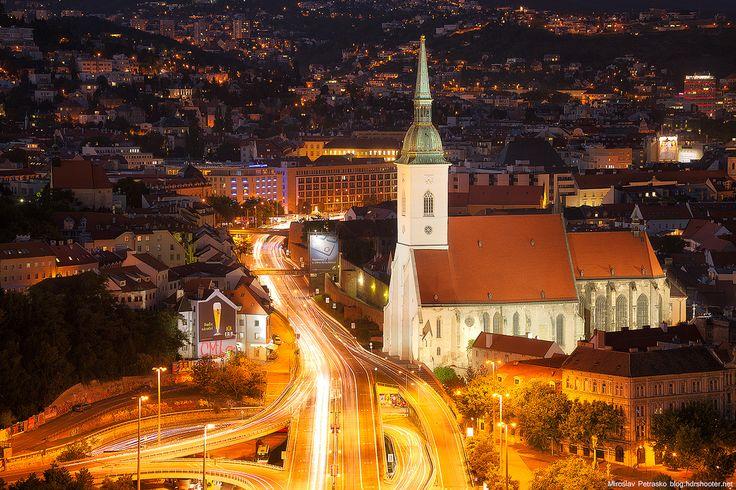 St. Martin's Cathedral in Bratislava, Slovakia http://timeforslovakia.com/best-of-bratislava