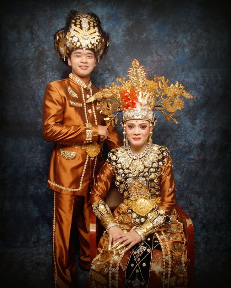 Gorontalo wedding costume, Sulawesi Indonesia