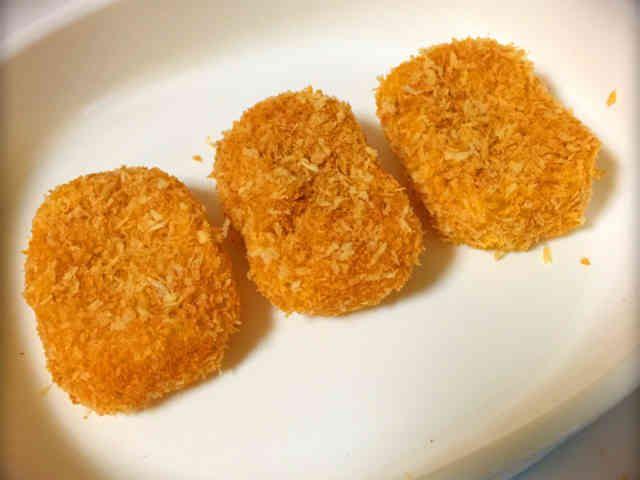 離乳食*後期〜♡かぼちゃクリームコロッケの画像