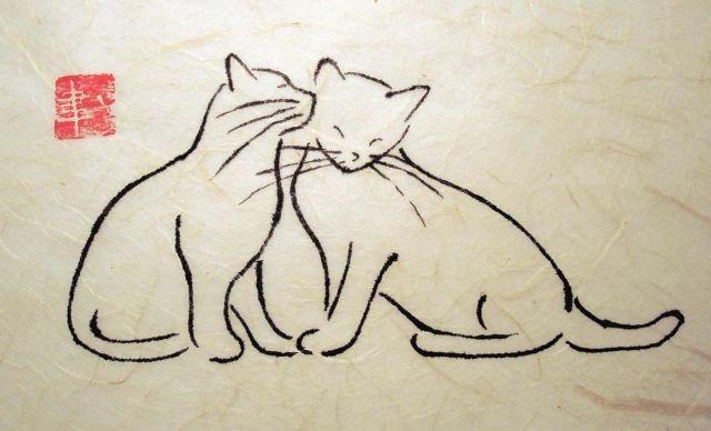 Cat Friends - Debbie Hicks