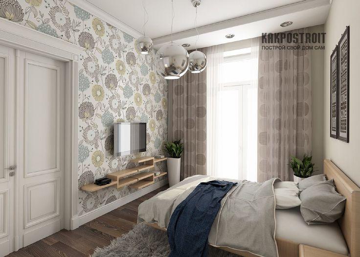 Эксклюзивные обои для спальни: дизайн и фото реализованных композиций | KAKPOSTROIT.SU