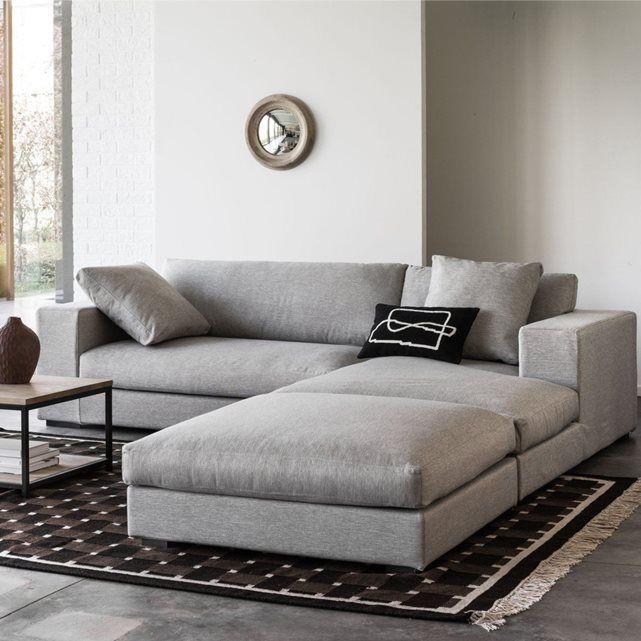 AM.PM - Demi-canapé fixe Horus, toile coton/lin, BULTEX | La Redoute