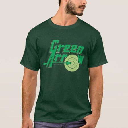 Green Arrow Logo T-Shirt - tap to personalize and get yours