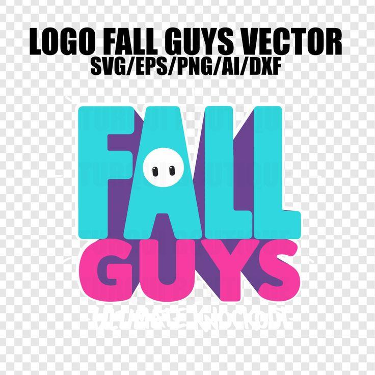 Fall Guys Logo Vector SVG/PNG/AI, Fall Guys Print T-Shirt ...