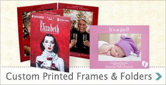 Printed Photo Folders from Studio Style are created as full-color souvenir & event picture frames and photo folders.  Full-color art paper photo folders for all holidays. Sports, Easter, parties, prom / homecoming dances, Halloween, Christmas, New Years, weddings & more. An inexpensive solution for framing on-site party & event photography.