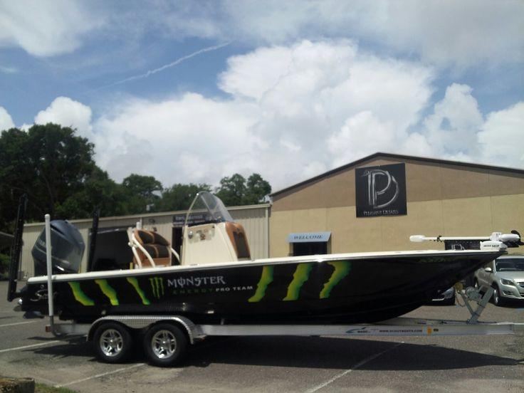 Our Nd Monster Energy Boat Wrap CAR BOAT VINYL WRAPS - Sporting boat decalsbest boat wraps custom vinyl images on pinterest boat wraps