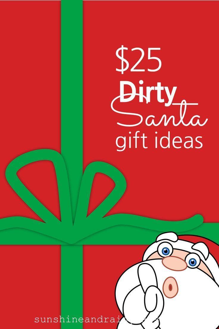 25 Dirty Santa Gift Ideas Gift Ideas Guides Diy Crafts
