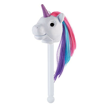 Prance into imaginative play with Twinkle from the Rainbow Prancers, Puppet-on-a-Stick! #unicorn