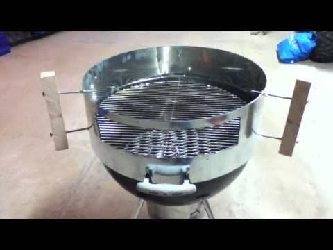 DIY How to Build a Kettle Pizza Clone for $20
