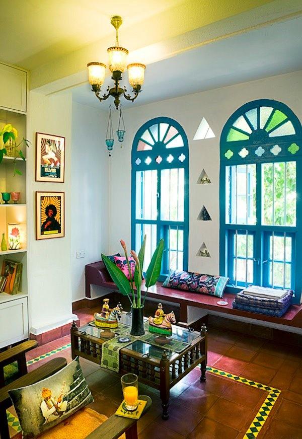 Karthik Vaidyanathans Chettinad Style Home In Bangalore