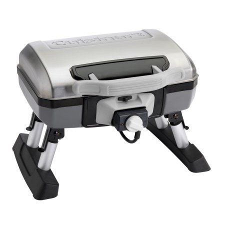 Cuisinart CEG-980T Outdoor Electric Tabletop Grill, Gray