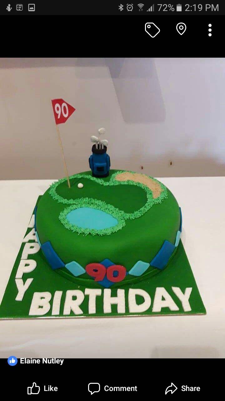 Grandada 90th bd cake