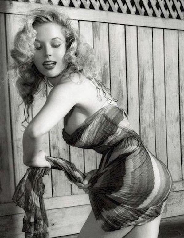 Betty Brosmer 1950s
