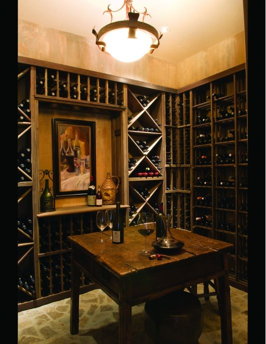 Wine Cellar - Home and Garden Design Ideas