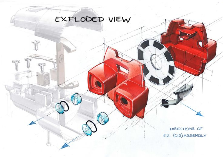 exploded view.
