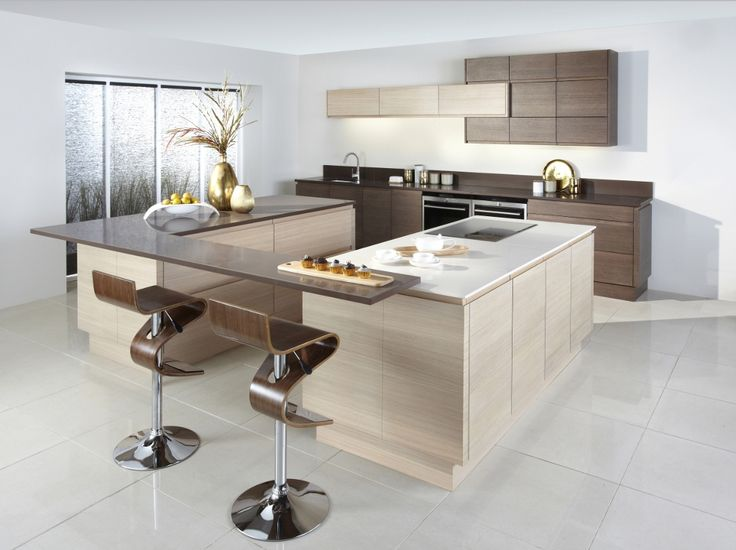 Burbidge s Malmo Kitchen in Bleached and Smoked Oak Veneer   Cupboards   Drawers  Island. 66 best images about Burbidge s Award Winning  Handle Less Malmo