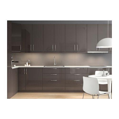 Ikea Kitchen Grey: METOD / FÖRVARA Mobile Base Per Forno E Cassetto, Nero