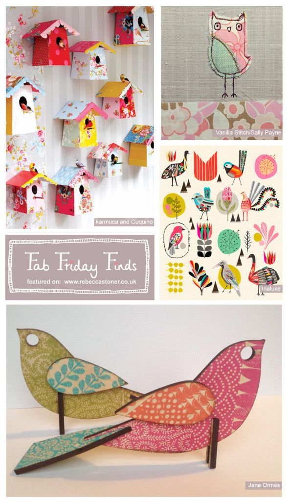 Fab Friday Finds - Week 2 - Brids - on Rebecca Stoner www.rebeccastoner.co.uk