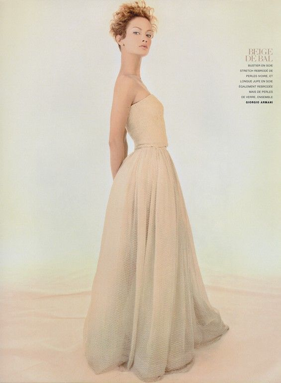 ☆ Carolyn Murphy | Photography by Raymond Meier | For Vogue Magazine Paris | May 1996 ☆ #Carolyn_Murphy #Raymond_Meier #Vogue #1996