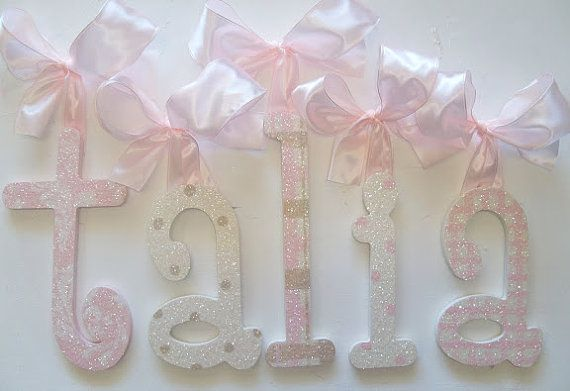 letters decorative wall letters wooden wall letters nursery letters