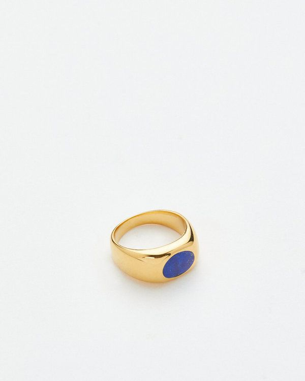 Scarlett Ring 14k Yellow Gold Vermeil with stones