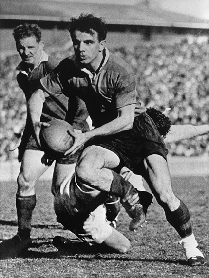 The great Clive Churchill, 1958. 157 games for South Sydney. 229 games as coach.