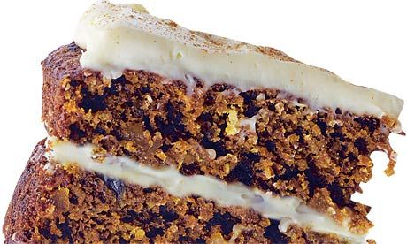 Dan Lepard's hemp and ginger cake: A deliciously spicy teatime treat. Photograph: Colin Campbell for the Guardian