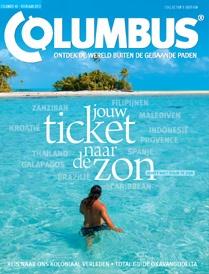 tijdschrift COLUMBUS *** http://www.columbusmagazine.nl/ *** Columbus laat u de prachtige bestemmingen zien wie door de meeste mensen nog niet gevonden zijn. Columbus publiceert het tijdschrift 6 keer per jaar en laat u wegdromen naar de mooiste plekken van de wereld. Het tijdschrift geeft ook praktische informatie en uitgebreide plattegronden. Columbus heeft schitterende fotografie samen met goed geschreven artikelen.
