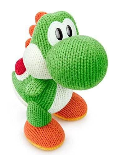 awesome Green Yarn Big Yoshi Amiibo - Wii U (yoshi Woolly World)