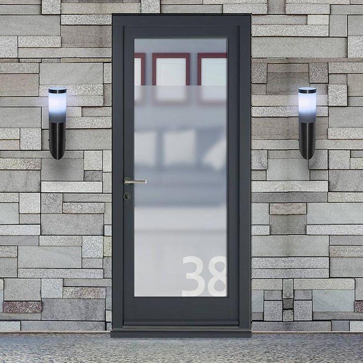 Dale High Performance Henley Special Glazed Door & Frame Set - Fully Decorated. #dalecontemporarydoor #externalcontemporarydoor #moderndoor
