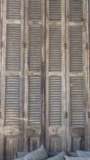 suzieandersonhome:  Rustic Vintage Shutters
