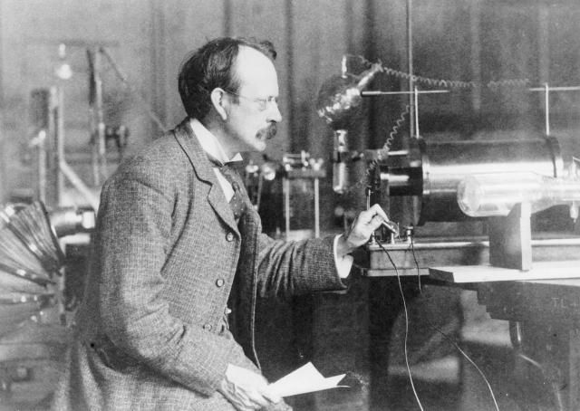 J.J. Thomson is the scientist who discovered the electron. Here is a brief biography of Thomson and interesting facts about his atomic theory.