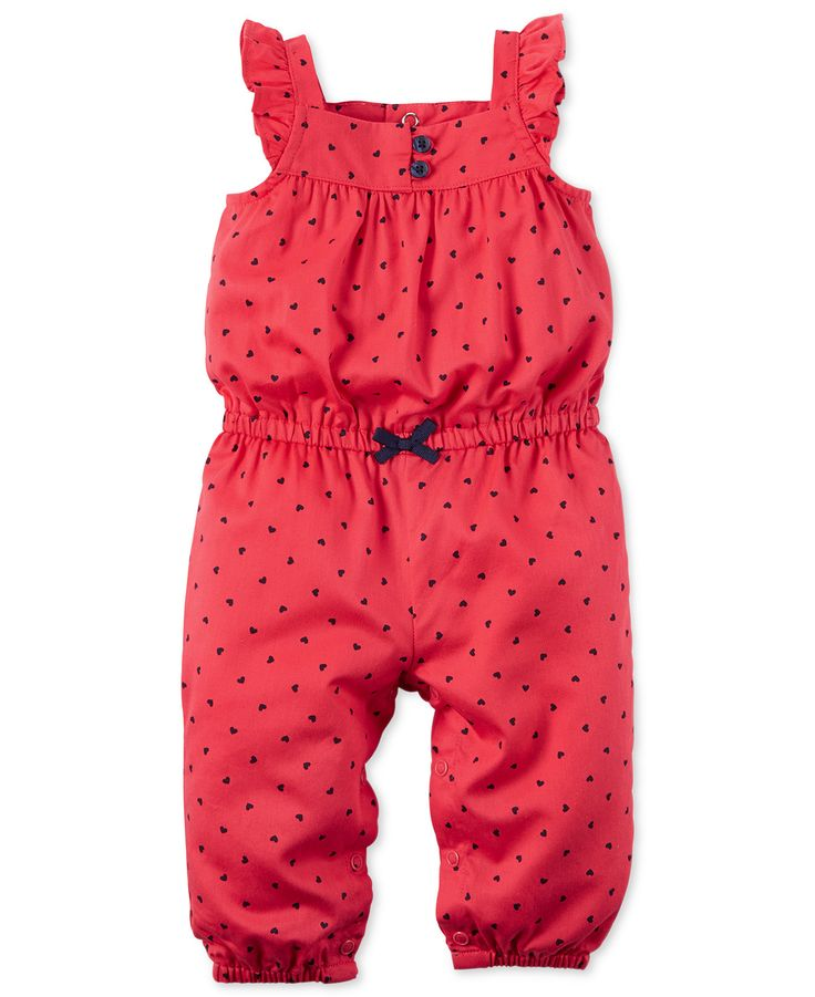 Carter's Baby Girls' Mini Dot Jumpsuit - Carter's - Kids & Baby - Macy's
